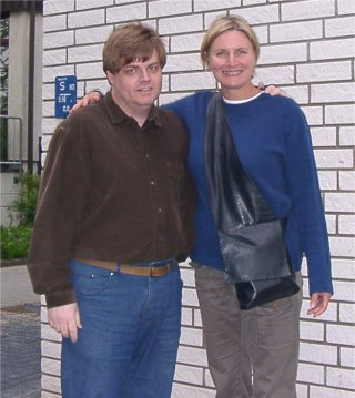 Peter Walker with Denise Crosby (TNG: Tascha Yar)